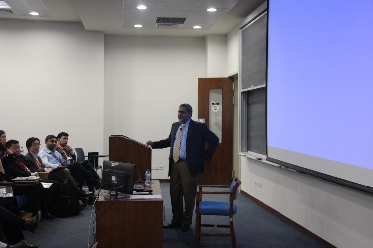 Welcome address by Dr. Shahid Masud, Dean SBASSE.